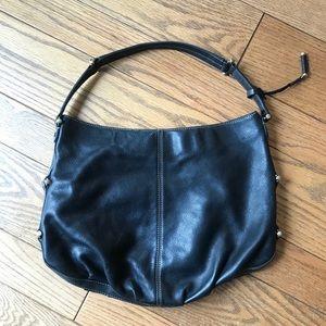 Liz Claiborne Black Leather Hobo